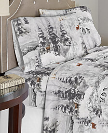 Celeste Home Luxury Weight Cotton Flannel Sheet Set Full