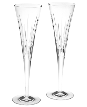 "Reed & Barton ""Soho "" Flutes, Set of 2"