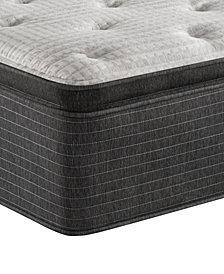 """Beautyrest Silver BRS900-C-TSS 16.5"""" Medium Firm Pillow Top Mattress - California King, Created for Macy's"""