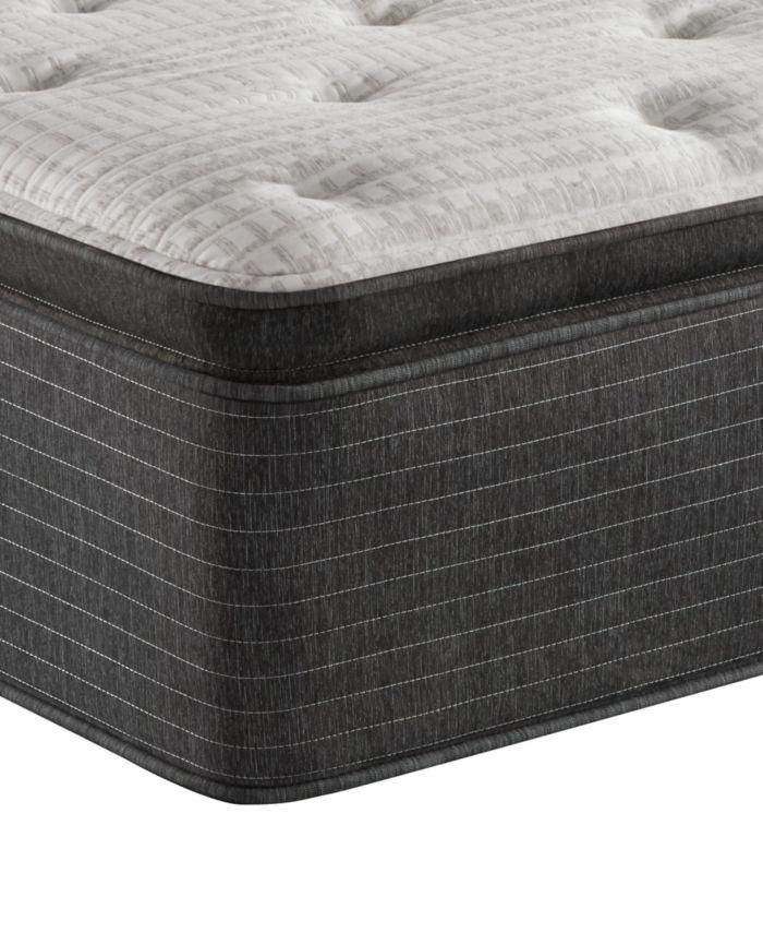 """Beautyrest BRS900-C-TSS 16.5"""" Medium Firm Pillow Top Mattress - Queen, Created for Macy's & Reviews - Mattresses - Macy's"""