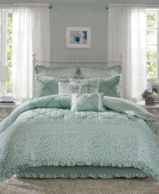 Mindy Cotton 9-Pc. Queen Comforter Set
