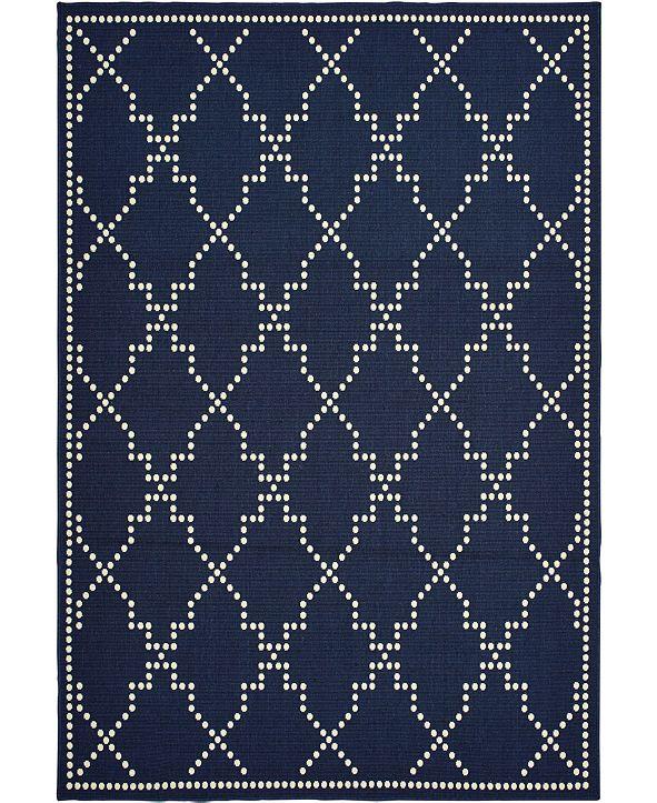 """Oriental Weavers Marina 7765 8'6"""" x 13' Indoor/Outdoor Area Rug"""