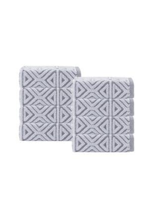 Glamour 8-Pc. Turkish Cotton Wash Towel Set