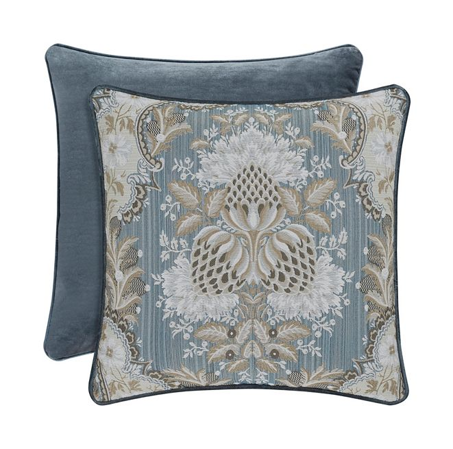 "J Queen New York J Queen Crystal Palace 18"" Square Decorative Pillow"