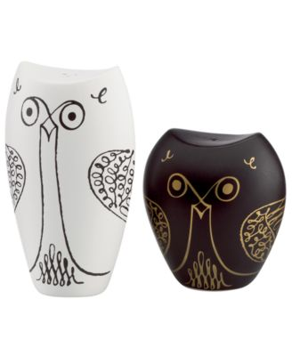 kate spade new york Salt and Pepper Shakers, Woodland Park Owl