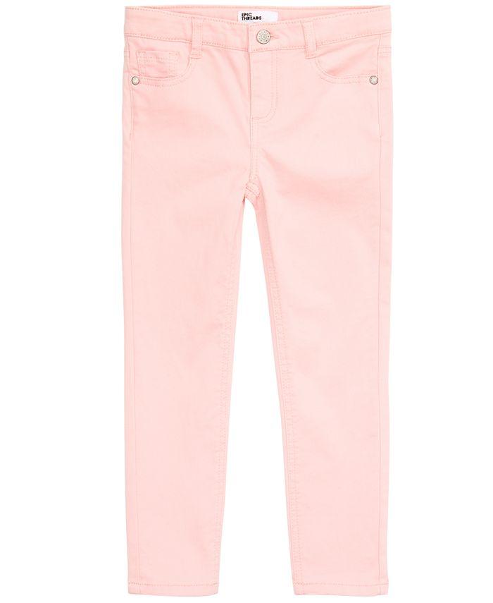 Epic Threads - Toddler Girls Sateen Denim Jeans