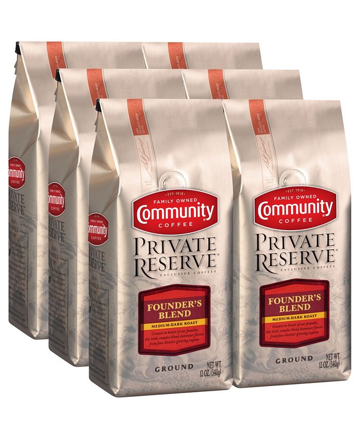 Community Coffee - CS-6: 12 OZ GRD PR FNDRS