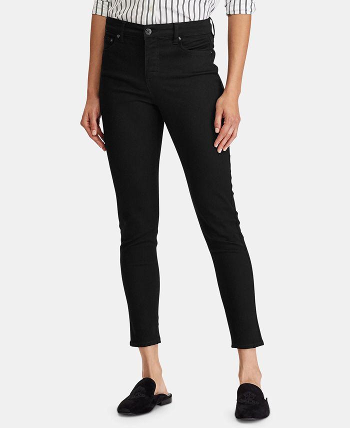 Lauren Ralph Lauren - Mid-Rise Skinny Jeans