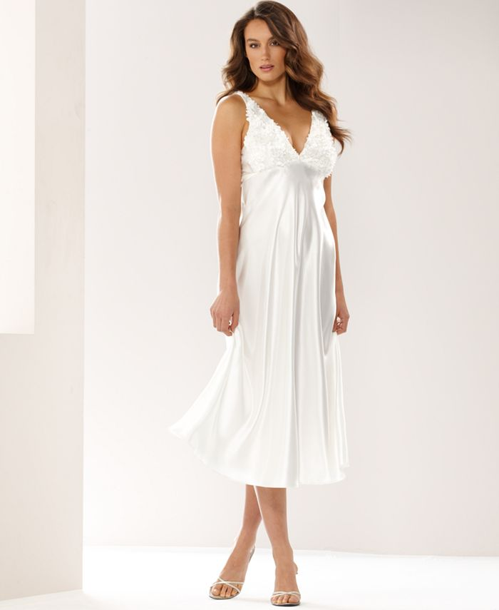 Flora by Flora Nikrooz - Bellflower Charmeuse Gown