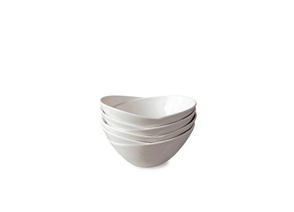 Over and Back Waves Bowls, Set Of 4