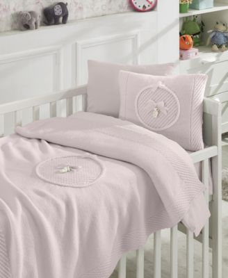 Teddy Premium 6 Piece Crib Bedding Set