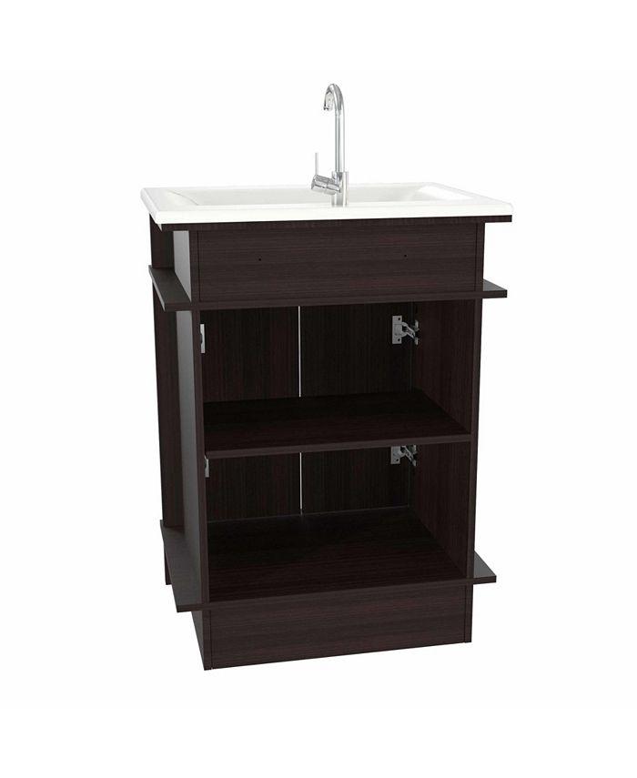 Inval America Modern Bathroom Vanity Reviews Furniture Macy S