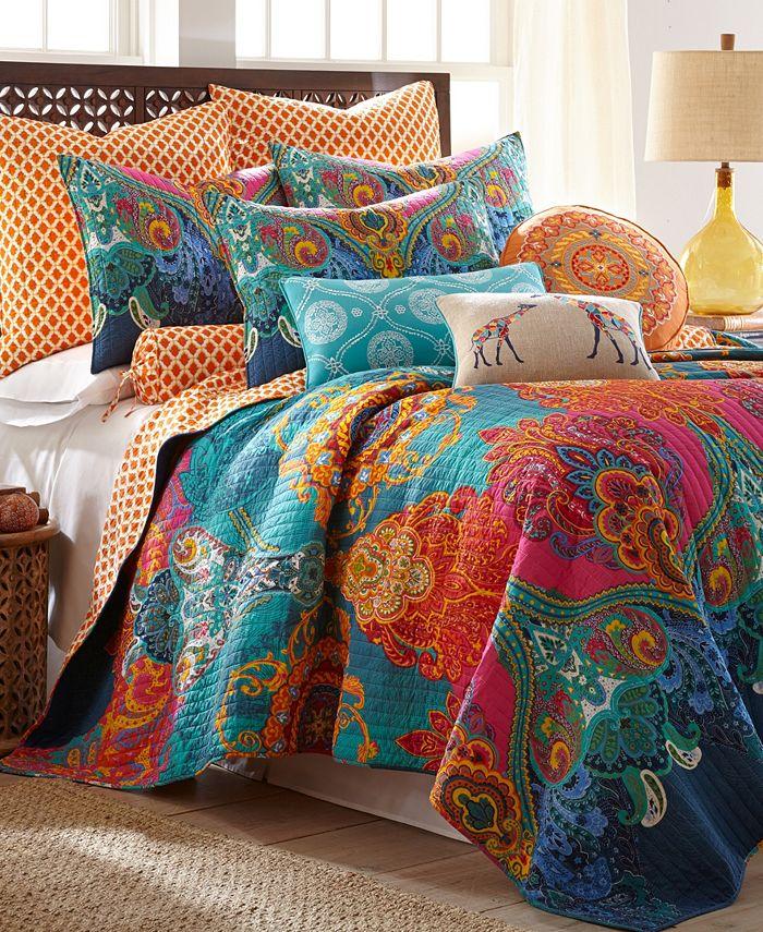 Levtex Home Mackenzie Twin Quilt Set Reviews Quilts Bedspreads Bed Bath Macy S