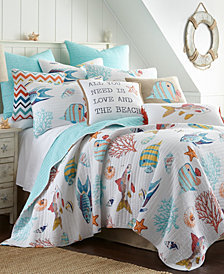 Levtex Home Barrier Reef Full/Queen Quilt Set