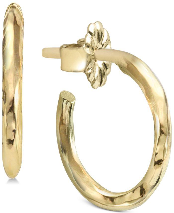 Argento Vivo - Polished Hoop Earrings
