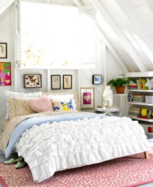 Teen Vogue Bedding, Secret Garden Twin Sheet Set Bedding