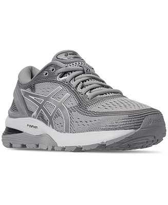 Condición Gimnasio progresivo  Asics Women's GEL-Nimbus 21 Running Sneakers from Finish Line & Reviews -  Finish Line Athletic Sneakers - Shoes - Macy's
