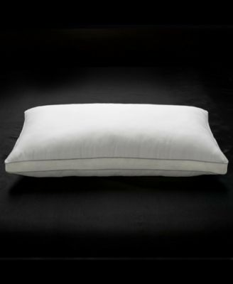 Memory Fiber Pillow 100% Cotton Luxurious Mesh Gusseted Shell All Sleeper Pillow - King