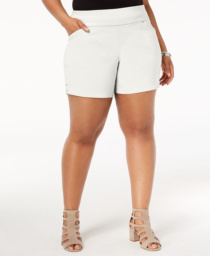 INC International Concepts - Plus Size Pull-On Shorts