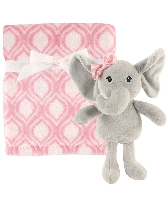 Hudson Baby Plush Blanket and Toy, One Size