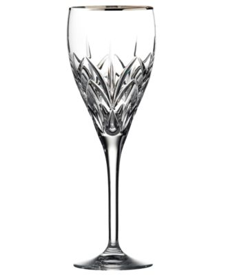 Marquis by Waterford Stemware, Caprice Platinum Goblet