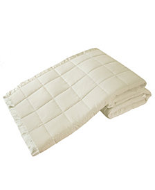Elite Home Down Alternative Solid Full/Queen Blanket
