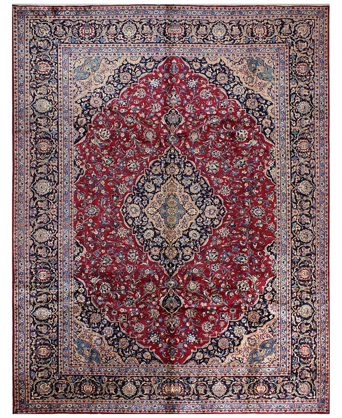"""BB Rugs - Kashmar 617020 Red 9'9"""" x 12'8"""" Area Rug"""