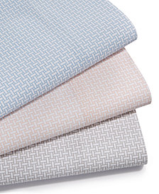 Charter Club Damask Designs Wovenblock Supima Cotton 550 Thread Count Sheet Sets, Created for Macy's