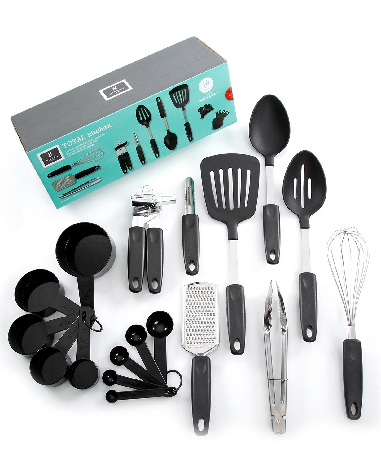 18-Piece Gadgets and Tools Kitchen Combo Set! .99 at Macy's with code: FRIEND