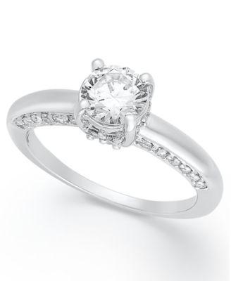 Chocolate Wedding Ring 83 Fancy Diamond Ring k White