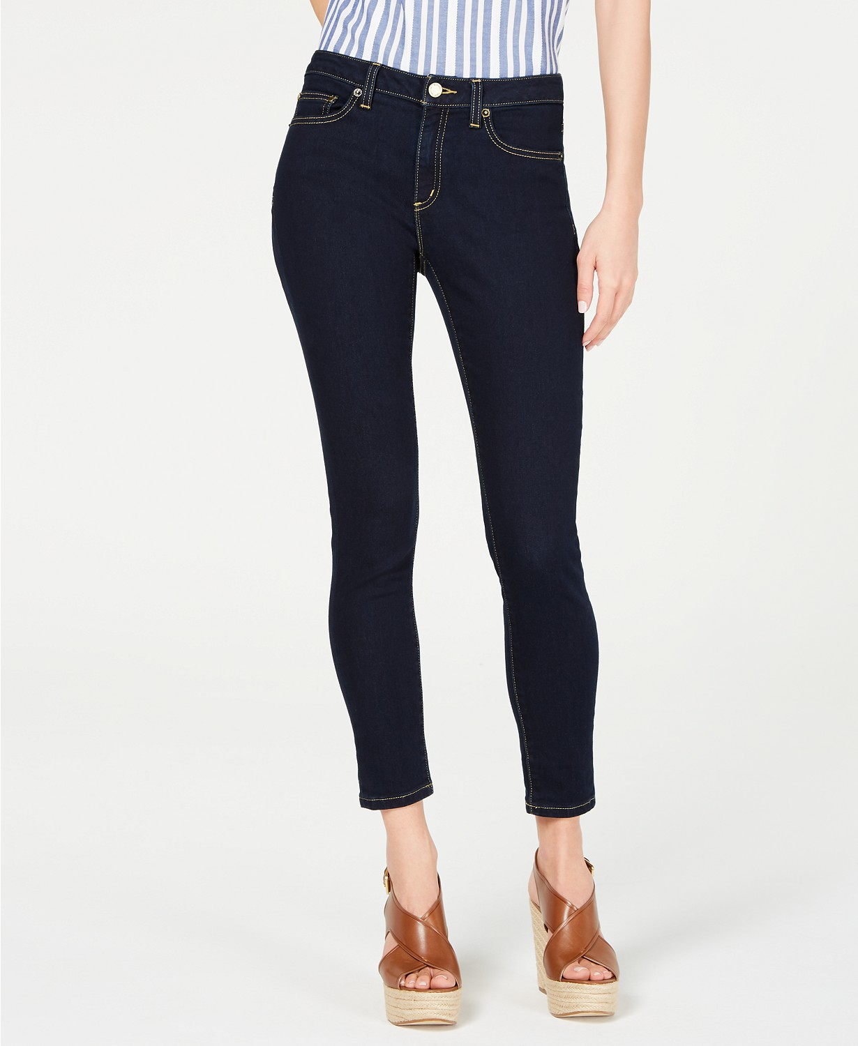 MICHAEL Michael Kors High-Rise Stretch Skinny Jean, in Regular & Petite Sizes