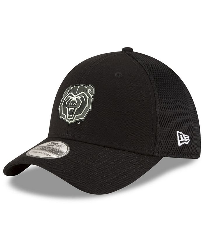 New Era - Black White Neo 39THIRTY Stretch Fitted Cap