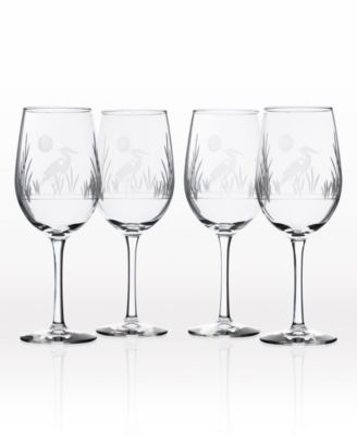 Heron Double Old Fashioned 14Oz - Set Of 4 Glasses