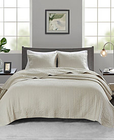 Madison Park Keaton 3-Piece King/Cal King Quilted Coverlet Set