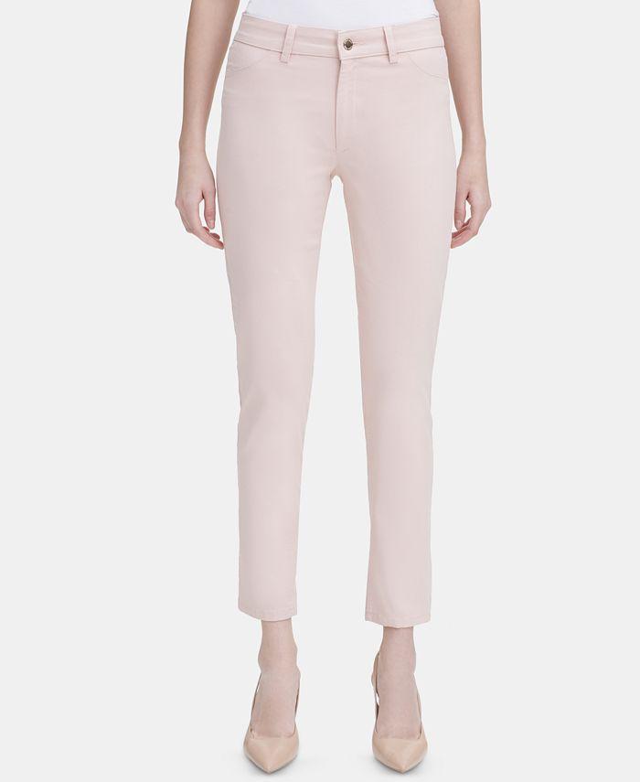 Calvin Klein - 4-Pocket Straight-Leg Pants