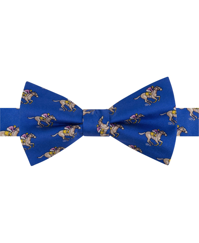 Tommy Hilfiger Men's Derby Racehorse Pre-Tied Silk Bow Tie & Reviews - Ties & Pocket Squares - Men - Macy's
