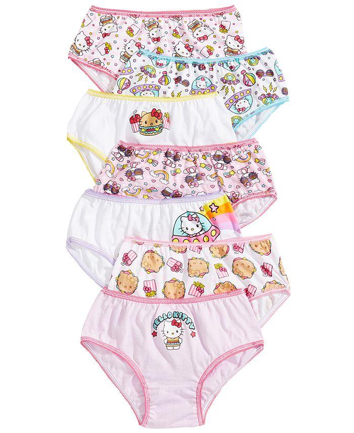 Disney - Girls 7-Pack Hello Kitty Underwear