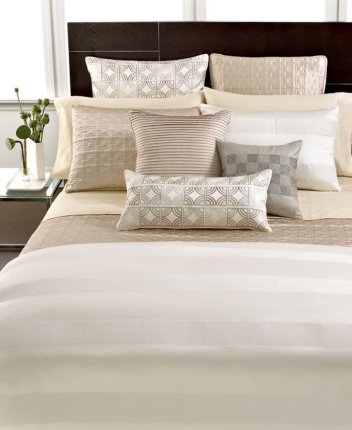 Hotel Collection - Woven Cord King Quilted Coverlet