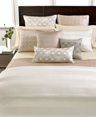 Hotel Collection Woven Cord Queen Quilted Coverlet