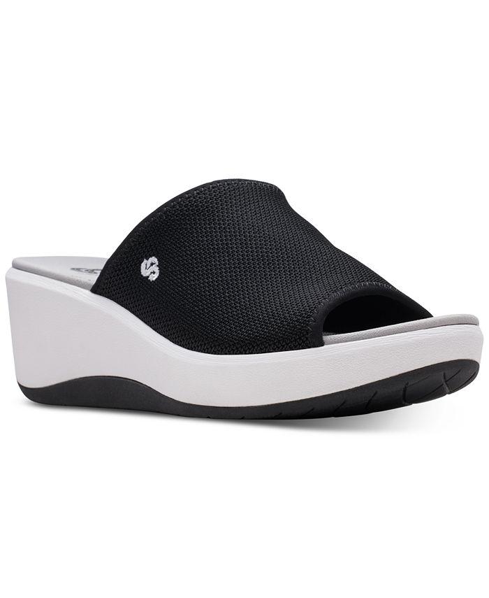 Clarks - Women's Cloudsteppers Step Cali Bay Slide Sandals