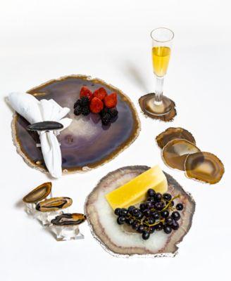 Decor Large Agate Serving Platter