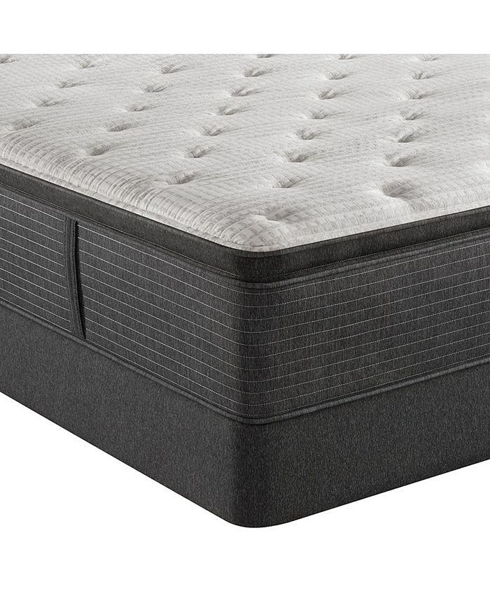 """Beautyrest - Level 2 16.5"""" Luxury Plush Pillow Top Mattress Set - Queen"""