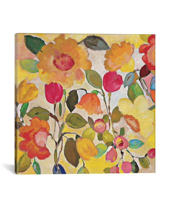 """iCanvas """"Pacific Garden"""" By Kim Parker Gallery-Wrapped Canvas Print - 12"""" x 12"""" x 0.75"""""""