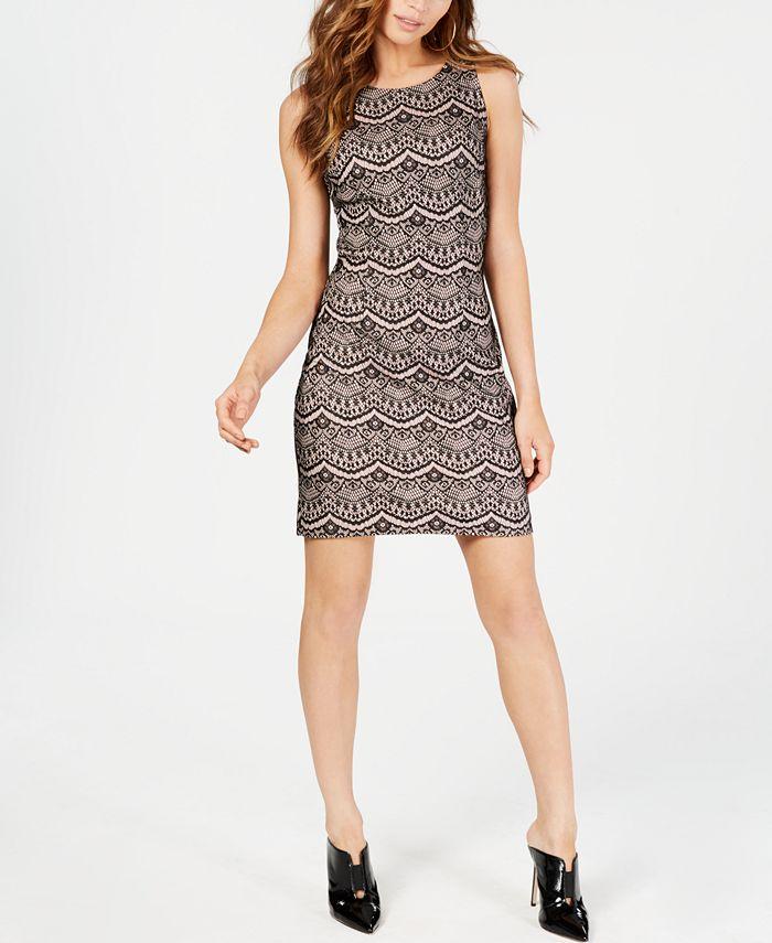 GUESS - Lace Sheath Dress