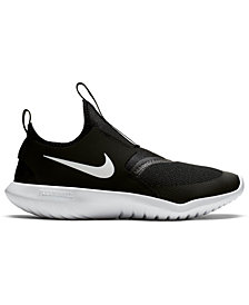 Nike Big Kids Flex Runner Slip-On Athletic Sneakers from Finish Line