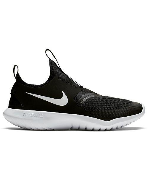 Big Kids Flex Runner Slip-On Athletic Sneakers from Finish Line