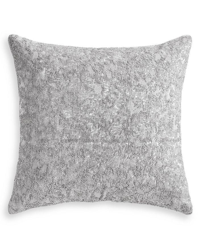 "Hotel Collection - Metallic Stone 20"" x 20"" Decorative Pillow"