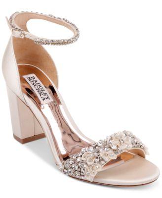 Badgley Mischka Finesse Evening Sandals