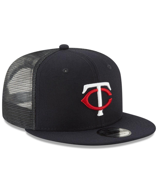 New Era Minnesota Twins All Day Mesh Back 9FIFTY Cap & Reviews - Sports Fan Shop By Lids - Men - Macy's