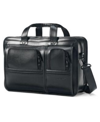 Samsonite Professional Leather 2 Pocket Business Case